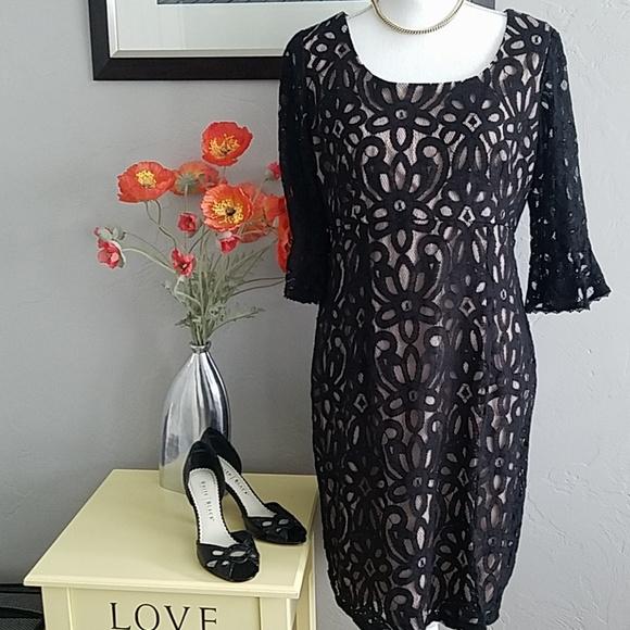 9b6c283f3e907 Rabbit Rabbit Rabbit Dresses | Rabbit Rabbit Beautiful Black Lace ...